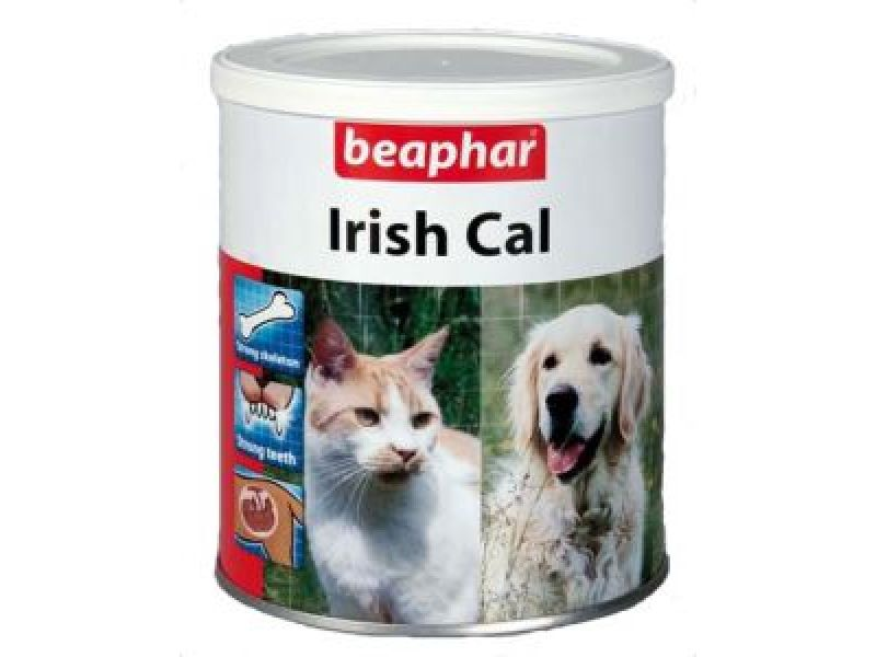 Минеральная смесь Beaphar для собак и кошек с КАЛЬЦИЕМ (Irish Cal), 250 гр - Фото