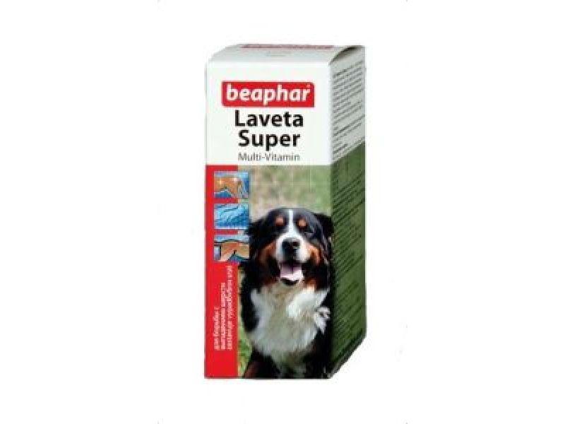 Витамины Beaphar для ШЕРСТИ собак (Laveta Super for Dogs), масло, 50 мл - Фото