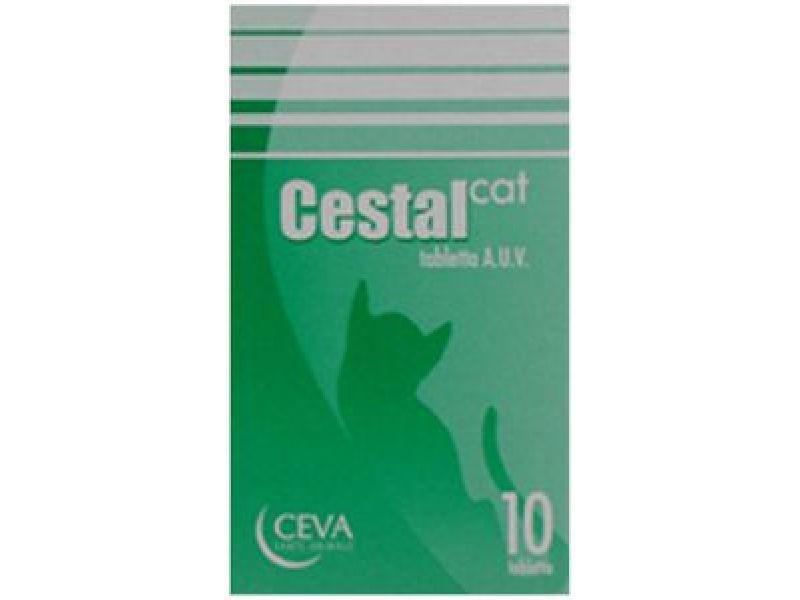 Ceva Таблетки Цестал от Глистов для кошек, 10таб. - Фото