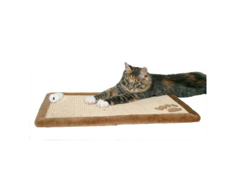 Trixie Когтеточка для кошек на пол и на стену (4325), сизаль, 55*35 см - Фото