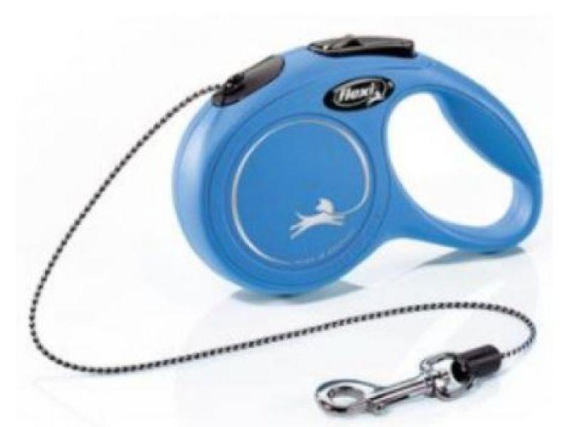 Flexi Рулетка-трос для животных до 8 кг, 3 м (New Classic XS) - Фото