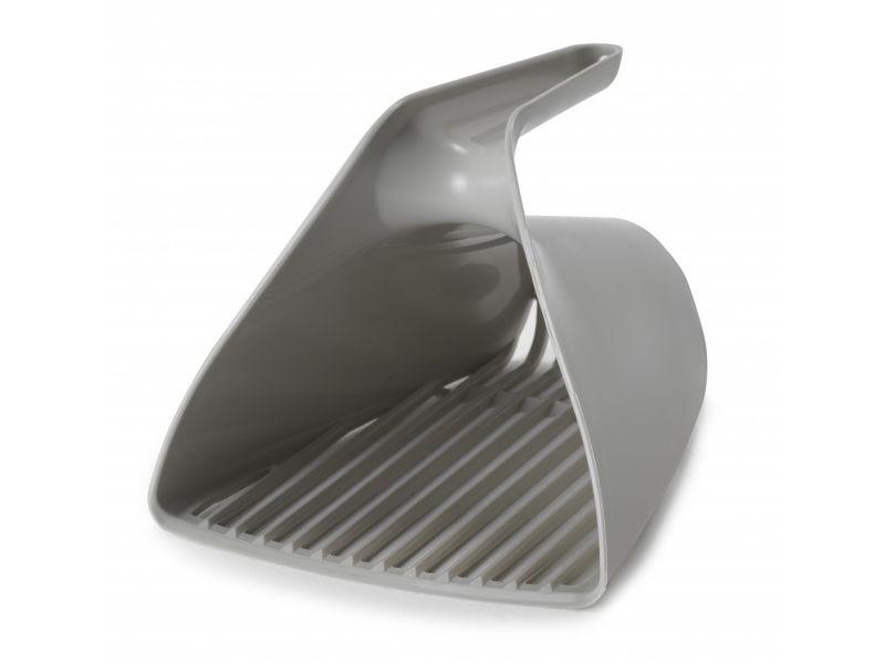 Moderna Совок-ковш для кошачьего туалета, теплый серый, 15*13*13 см - Фото