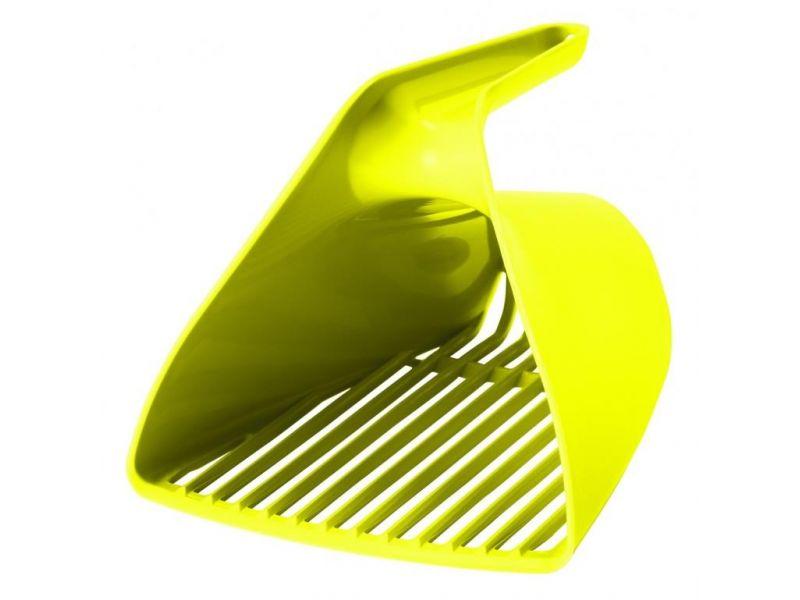 Moderna Совок-ковш для кошачьего туалета, лимонно-желтый, 15*13*13 см - Фото