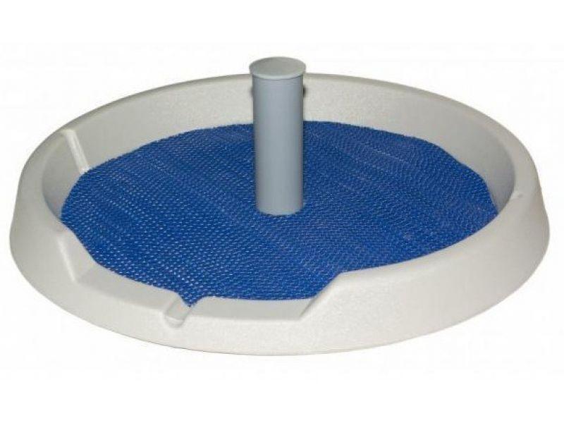 Туалет круглый со столбиком Danko для собак, РАЗНЫЕ ЦВЕТА, 50 см   - Фото