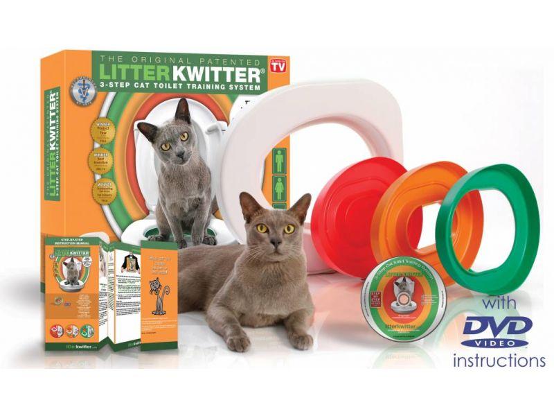 "Feedex Система приучения котят к туалету ""Litter Kwitter"" - Фото"