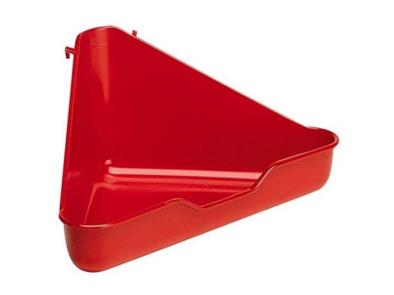 Ferplast Туалет угловой (L370), для хорька, 27*27*17 см - Фото