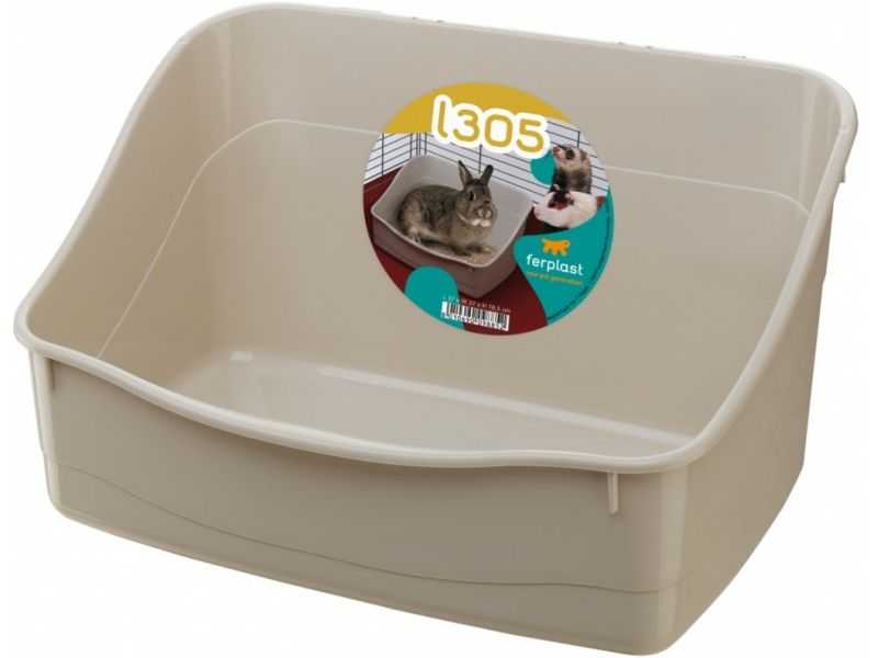 Ferplast Туалет для кролика (L305), 37*27*18,5 см  - Фото