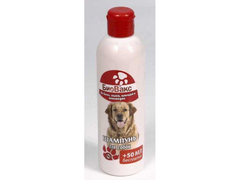 БиоВакс Шампунь от вшей, блох и клещей для собак, 250 мл  - Фото