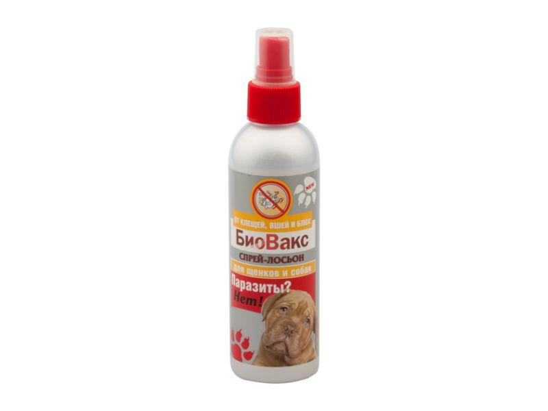 """БиоВакс Спрей-лосьон для собак """"Паразиты? Нет!!!"""", 180 мл - Фото"""