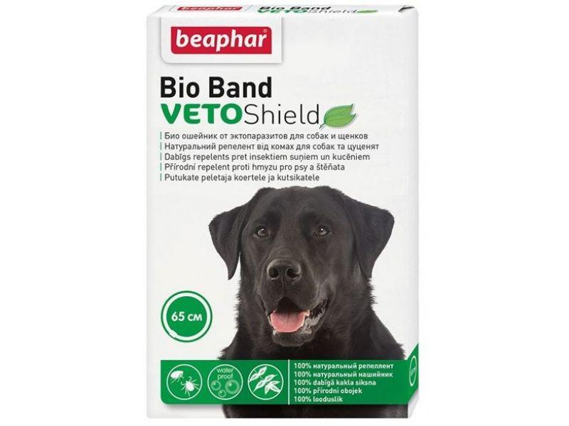 Beaphar Био-ошейник от насекомых для собак (Bio Band Plus for Dog), 65 см - Фото